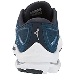 Mizuno Men's Wave Rider 25 Running Shoe, Imperial Blue, 10.5 Wide