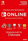 Nintendo Switch Online Mitgliedschaft - 3 Monate | Switch Download Code -