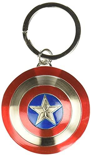 Monogram Marvel Llavero Escudo Capitán América,...