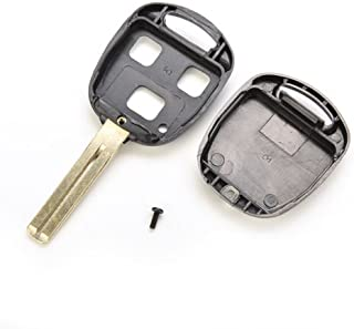 AuCatStore(TM) for Lexus IS200 GS300 RX300 3-BTS Replace Remote Key Fob Shell Blade PL