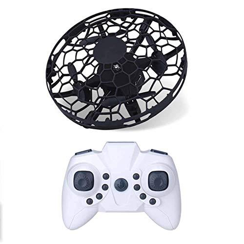 Markc Mini-Sensor UFO-Fernbedienung Drohne Kinderspielzeug-Geschenk Smart Geste-Sensor UFO-Fernbedienung UFO-Flugzeug (Color : Schwarz)