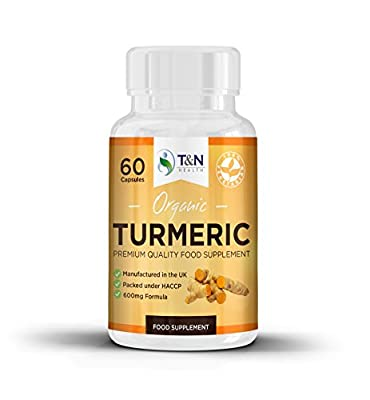 Turmeric Curcumin Capsules - Powerful Anti-inflammatory & Joint Support | Premium Quality Supplement | 100% Money Back Guarantee! by TN Health