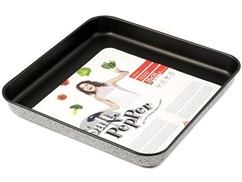 Home Salt N'Pepper Teglia Forno in Alluminio, Rivestimento Antiaderente, 35x35 cm