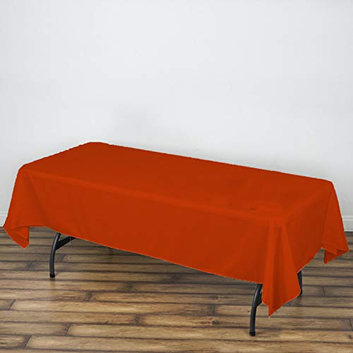 AK TRADING COMPANY AK-Trading 60 x 102-Inch Rectangular Polyester Tablecloth - Copper