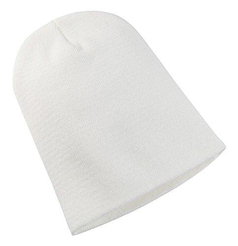Yupoong - Bonnet - Homme Blanc Blanc taille unique