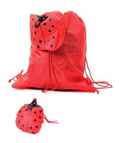 Lote de 20 Mochilas Plegable Animales Rojo Mariquita - Mochilas bolsas escolares...