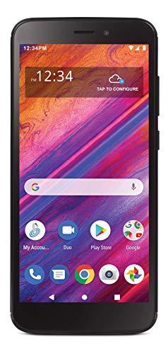 Tracfone Blu View 1 4G LTE Prepaid Smartphone (Locked) - Black - 16GB - Sim Card Included - CDMA