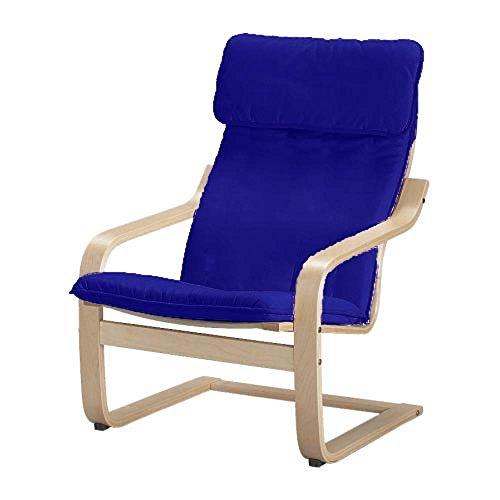 Custom Slipcover Replacement El algodón Poang sillón Cubierta de Repuesto es Fabricada a Medida para IKEA Poang sillón Funda Protectora Que sólo.