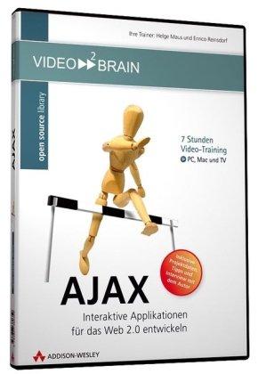 AJAX - Die Programmierung hochinteraktiver Webanwendungen am eigenen Bildschirm lernen wie im Kurs - 7 Stunden Videotraining - für PC, Mac und TV!: ... (AW Videotraining Grafik/Fotografie)