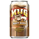 Mug Root Beer, 12 Fl Oz cans, Pack of 18