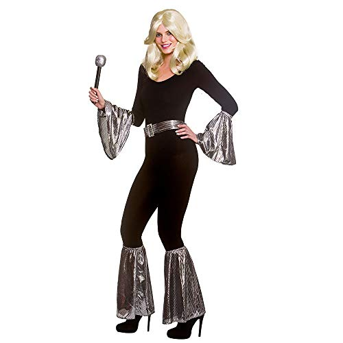 * Bestseller * 70s Mamma Mia 5 Piece Silver Disco Accessories Set. Add to your own clothes to create a low cost costume.