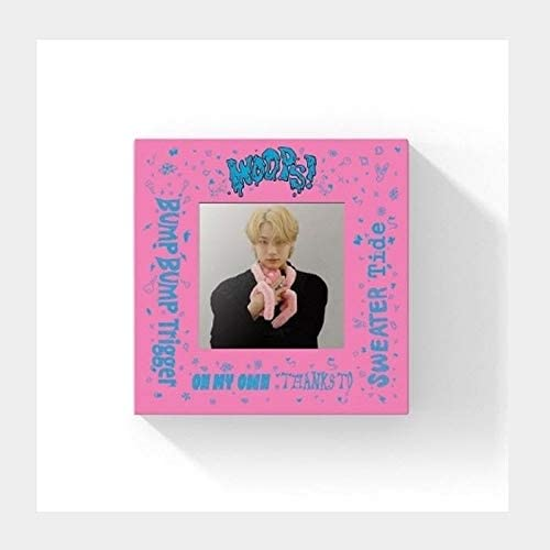 Woodz Woops 2nd Mini Album Beauty products Love outlet Poster+84p Version PhotoB CD+1p