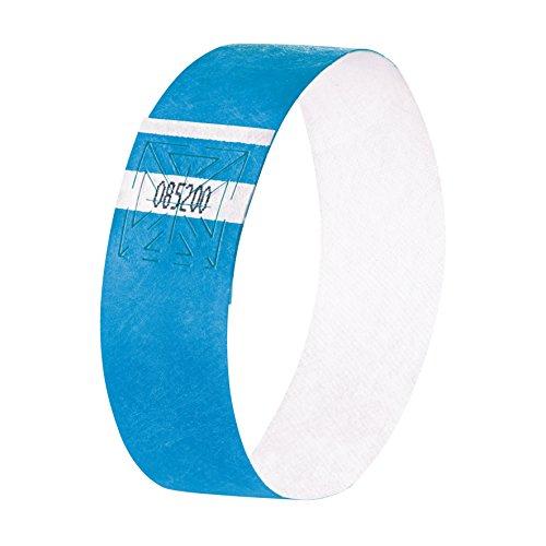 SIGEL EB211 Eventbänder Super Soft, neon blau, 120 Stück - viele Farben