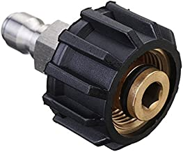 High Pressure Washer Quick Connect M22-14mm X 1/4 Inch Quick Connect Adapter