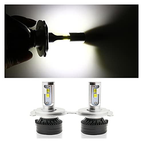 FANGFANGWAN 2pcs 72w h7 h4 LED CANBUS 1200 0lm Bombillas de Alta Potencia H1 H8 9005 9006 HB3 HB4 H3 LED Light 600 0k H11 Lampara de Niebla