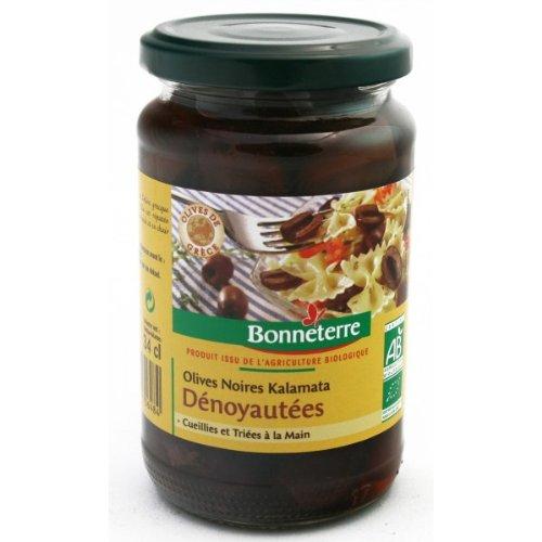 ijsalut - aceitunas negras kalamata s/hu bonneterre 170 gr