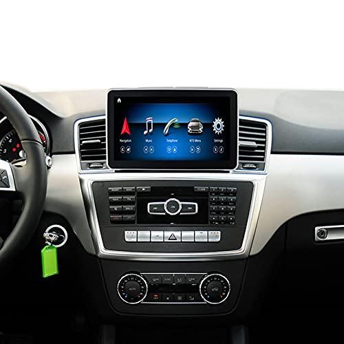 COCOGQ Navegador por Satélite De 8.4'' para Ben/z ML GL Class Class Pantalla Coche Android 1920x720 Navegación GPS 4 Núcleos/ 8núcleos,Soporte Grabador De Conducción/Imagen De Marcha Atrás,N200