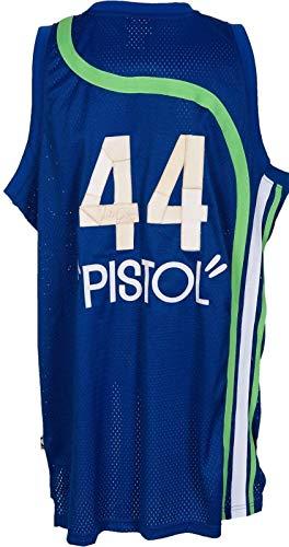 Pete Maravich Signed Atlanta Hawks Jersey The Only One Known PSA DNA & JSA COA - Autographed NBA Jerseys
