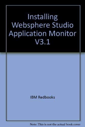Installing Websphere Studio Application Monitor V3.1
