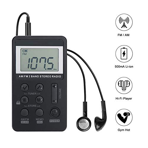 Personal AM/FM Pocket Radio Port...