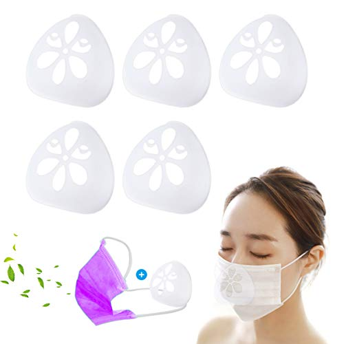 Silicone Face Bracket for Mask 3D