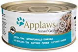 Fins Fur and Feathers Applaws Kitten Tuna in Jelly (Pack of 4 Tins)