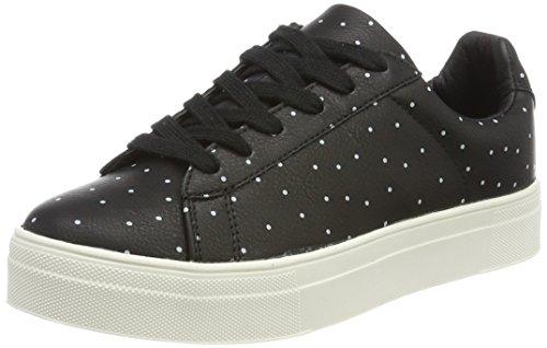 ICHI Damen A VIGDIS FW Sneaker, Schwarz (Black), 39 EU