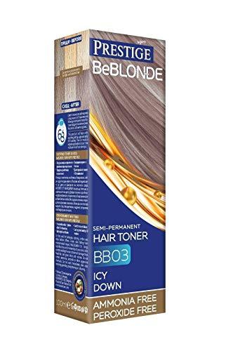 Vips Prestige BeBlonde Tinte Semi Permanente Color Amanecer Helado BB03, Sin Amoniaco Sin Peroxide