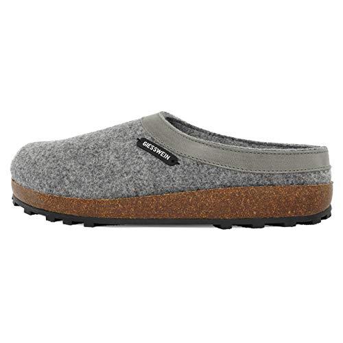 Giesswein Chamerau, Pantoffeln Unisex-Erwachsene, Grau, 43 EU