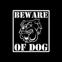 花を張る 犬のみ警告サイン交尾車のステッカー (Color : Silver)