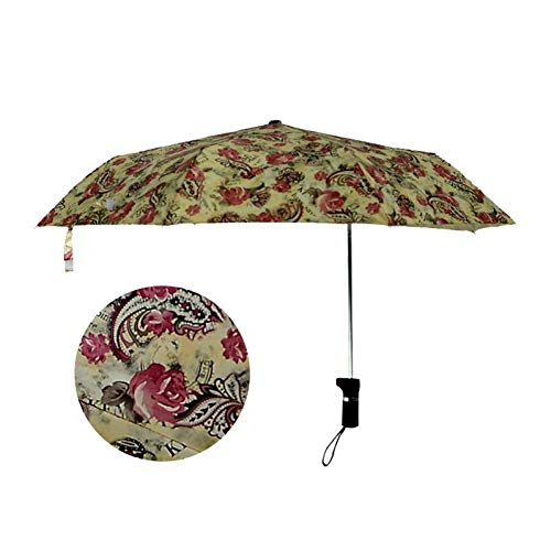 NFHBBAA Paraguas Excéntrico Parasol Paraguas UV A Prueba De Viento Masculino Y Femenino Automática