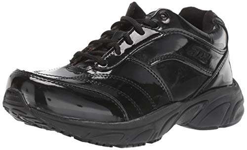 3N2 Reaction Schiedsrichter Basketballschuh aus Lackleder, Herren, Reaction Referee - Patent Leather, Black Patent Leather, Size 6.5