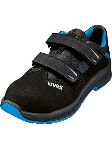 Uvex - Casco para bicicleta (talla 45), color negro