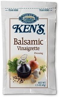 KENS PORTION CONTROL DRESSING PACKETS (Balsamic Vinaigrette)