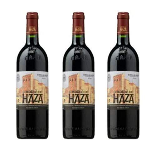 Condado De Haza Crianza Vino Tinto Crianza - 3 botellas x 750ml - total: 2250 ml