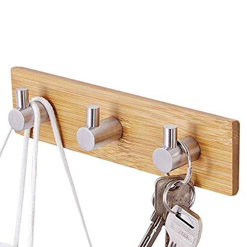 Ganchos Adhesivos,Ganchos de bambú,Gancho adhesivos de madera,Se utiliza en Sala de Estar,...
