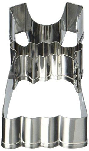 Städter Backformen, Edelstahl, Silber, 4-7,5 cm