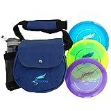 Kestrel Discs Golf Pro Set | 3 Disc Pro Pack Bundle + Bag | Disc Golf Set | Includes Distance Driver,...
