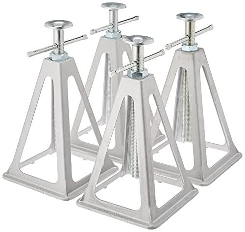 Aluminiowe 360803 podpórki do przyczep i przyczep kempingowych do 3600 kg