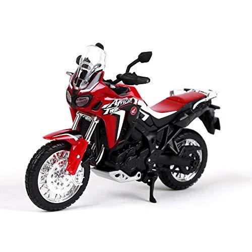 test SSBH1: 18 Africa Twin DCT Rot Motorrad Druckgusslegierung Motorrad Modell Kinderspielzeug… Deutschland