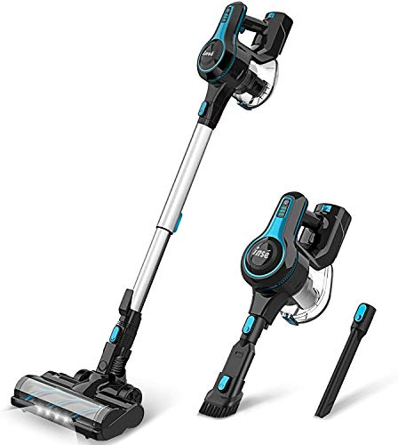 INSE Cordless Vacuum Cleaner Lightweight Powerful Suction Stick Vacuum 1.2 L Large Dust Cup Handheld Vac for Cleaning Home Car...