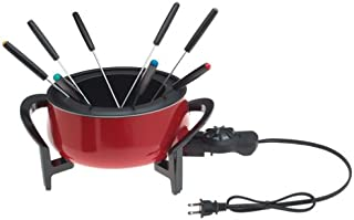 West Bend 88003 The Entertainer 3-Quart Electric Fondue Pot with 8 Forks (Discontinued by Manufacturer)