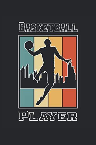 Basketball Player: Taccuino a righe quaderno di scrittura diario ToDo libro dei compiti libro di storia (15,24 x 22,86 cm; ca. A5) 120 pagine. Per ... streetball dunk slamdunk squadra di basket.