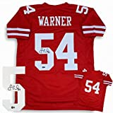 Fred Warner Autographed Signed Jersey - Red - Beckett Authentic