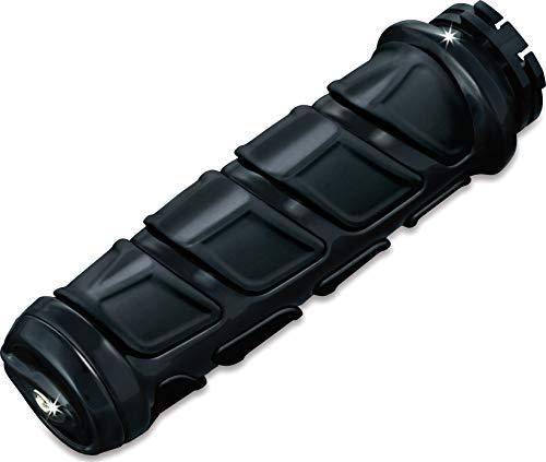 Kuryakyn 6373 Premium Kinetic Handlebar Grips: Universal Fit for Motorcycles with 1' Diameter Bars,...