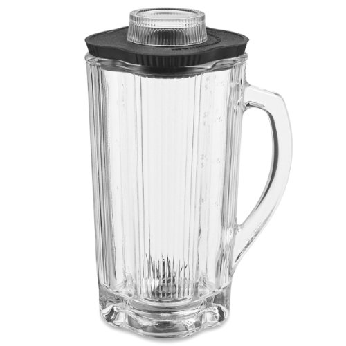 Waring Commercial CAC32 Glass Container with Blade Assembly and Lid, 40-Ounce