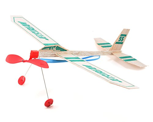 Paul Guillow Sky Raider Glider 2/' Ages 8 And Up Case of 12
