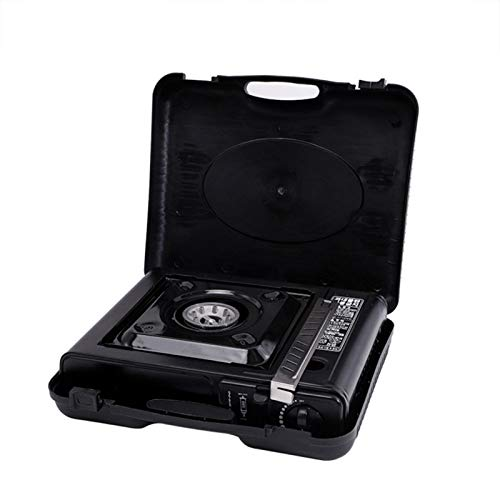Nicemeet Gas Stove, Portable Outdoor Grill Camping Stoves, Durable Cassette Furnace Cooktop Burner with Carrying Case