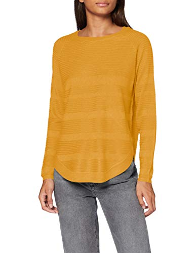 ONLY Onlcaviar L/s Pullover Knt Noos, Suéter para Mujer, Amarillo (Golden Yellow Golden Yellow), 40 (Talla del fabricante: Medium)