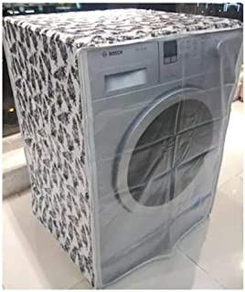 Front Loading Washing Machine Cover Suitable for LG, Samsung, IFB, Whirlpool, Haier, Voltas with Size 50cmsX60cmsX83cms ON...